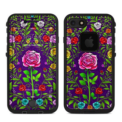 Lifeproof iPhone 7 Fre Case Skin - Rose Burst