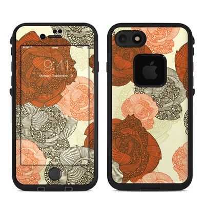Lifeproof iPhone 7 Fre Case Skin - Roses