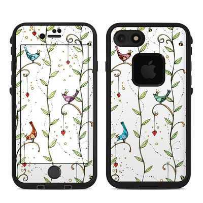 Lifeproof iPhone 7 Fre Case Skin - Royal Birds