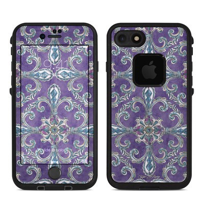 Lifeproof iPhone 7 Fre Case Skin - Royal Crown