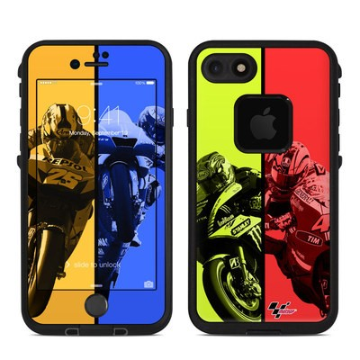 Lifeproof iPhone 7 Fre Case Skin - Race Panels