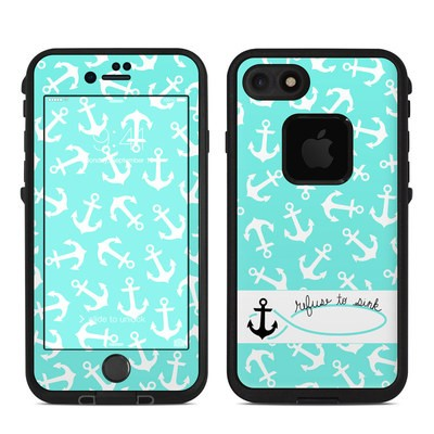 Lifeproof iPhone 7 Fre Case Skin - Refuse to Sink