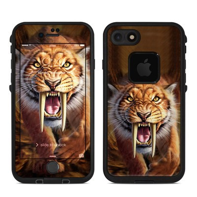 Lifeproof iPhone 7-8 Fre Case Skin - Sabertooth