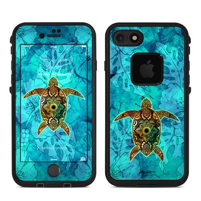Lifeproof iPhone 7 Fre Case Skin - Sacred Honu