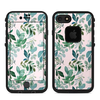 Lifeproof iPhone 7-8 Fre Case Skin - Sage Greenery