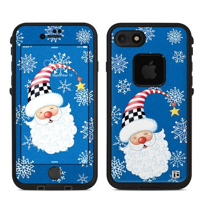 Lifeproof iPhone 7 Fre Case Skin - Santa Snowflake