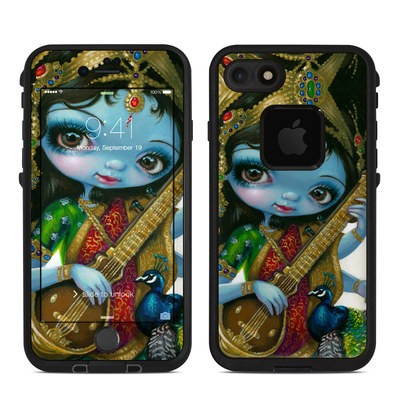 Lifeproof iPhone 7 Fre Case Skin - Saraswati Playing