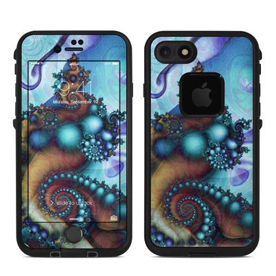 Lifeproof iPhone 7 Fre Case Skin - Sea Jewel