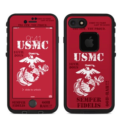 Lifeproof iPhone 7 Fre Case Skin - Semper Fi