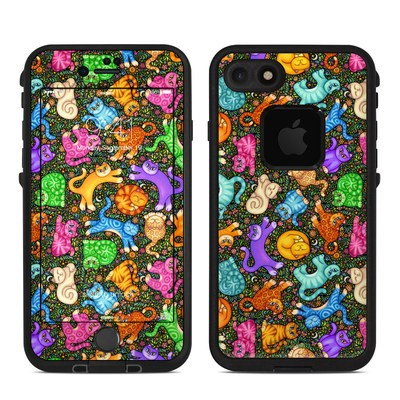 Lifeproof iPhone 7 Fre Case Skin - Sew Catty