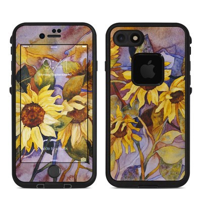 Lifeproof iPhone 7 Fre Case Skin - Sunflower
