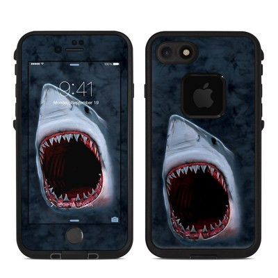 Lifeproof iPhone 7 Fre Case Skin - Shark