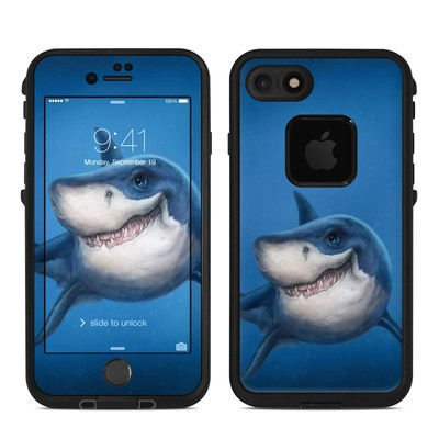 Lifeproof iPhone 7 Fre Case Skin - Shark Totem