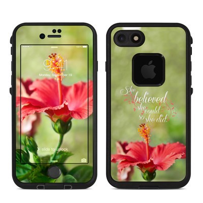Lifeproof iPhone 7 Fre Case Skin - She Believed