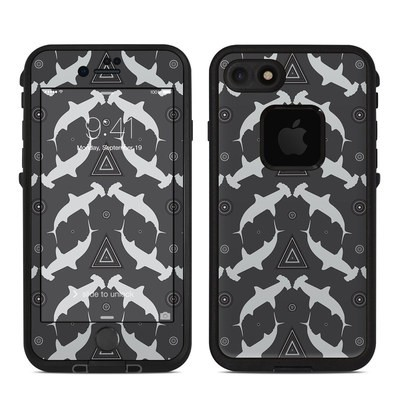 Lifeproof iPhone 7 Fre Case Skin - Shiver of Sharks