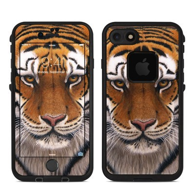 Lifeproof iPhone 7 Fre Case Skin - Siberian Tiger