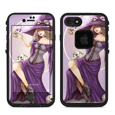 Lifeproof iPhone 7-8 Fre Case Skin - Skull Witch