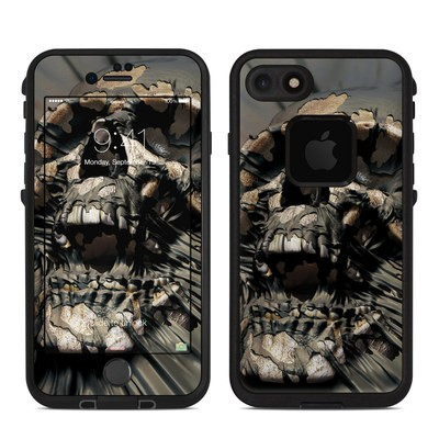 Lifeproof iPhone 7 Fre Case Skin - Skull Wrap