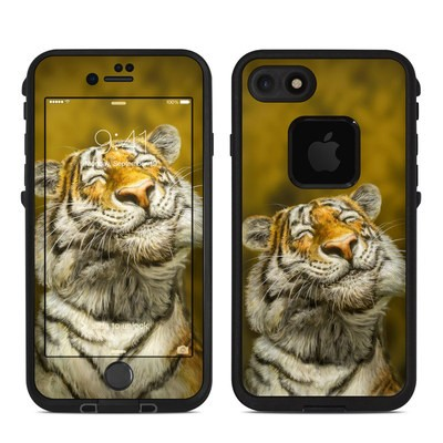 Lifeproof iPhone 7 Fre Case Skin - Smiling Tiger