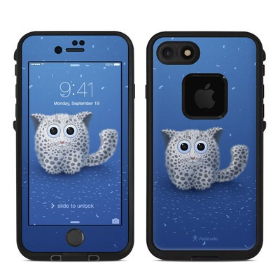 Lifeproof iPhone 7 Fre Case Skin - Snow Leopard
