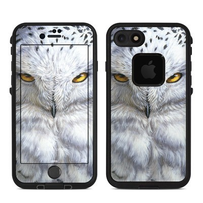 Lifeproof iPhone 7 Fre Case Skin - Snowy Owl