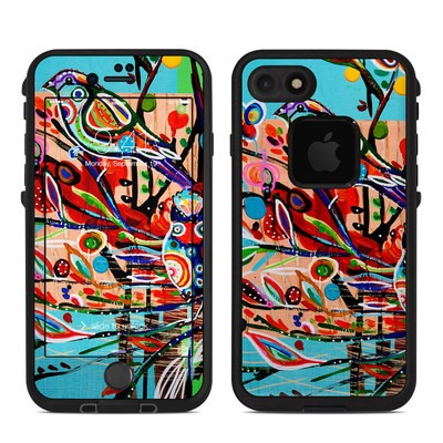 Lifeproof iPhone 7 Fre Case Skin - Spring Birds