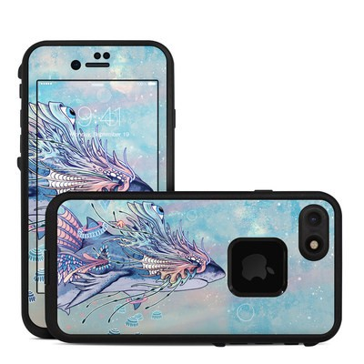 Lifeproof iPhone 7 Fre Case Skin - Spirit Shark