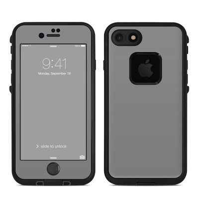 Lifeproof iPhone 7 Fre Case Skin - Solid State Grey