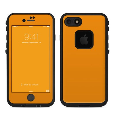 Lifeproof iPhone 7 Fre Case Skin - Solid State Orange