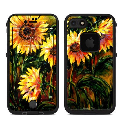 Lifeproof iPhone 7 Fre Case Skin - Sunflower Sunshine