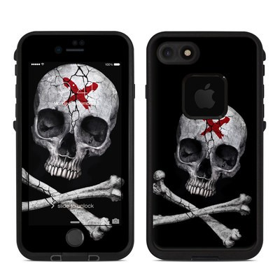 Lifeproof iPhone 7-8 Fre Case Skin - Stigmata Skull