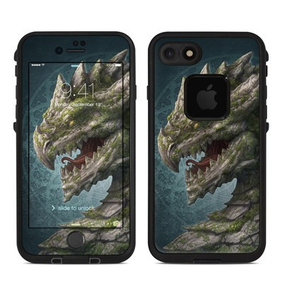Lifeproof iPhone 7 Fre Case Skin - Stone Dragon