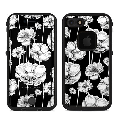 Lifeproof iPhone 7 Fre Case Skin - Striped Blooms