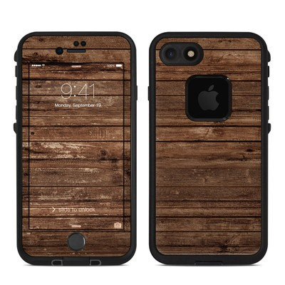 Lifeproof iPhone 7 Fre Case Skin - Stripped Wood