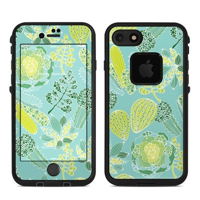 Lifeproof iPhone 7-8 Fre Case Skin - Succulents
