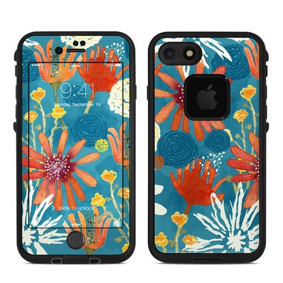 Lifeproof iPhone 7 Fre Case Skin - Sunbaked Blooms