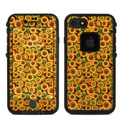 Lifeproof iPhone 7 Fre Case Skin - Sunflower Patch