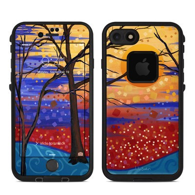 Lifeproof iPhone 7 Fre Case Skin - Sunset Moon
