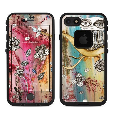 Lifeproof iPhone 7 Fre Case Skin - Surreal Owl