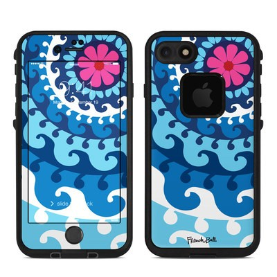 Lifeproof iPhone 7-8 Fre Case Skin - Sus Blue