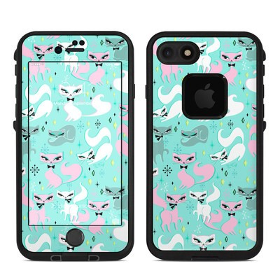Lifeproof iPhone 7-8 Fre Case Skin - Swanky Kittens