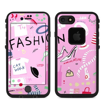 Lifeproof iPhone 7 Fre Case Skin - Tres Chic