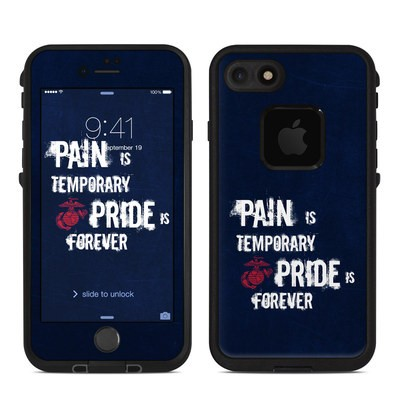 Lifeproof iPhone 7 Fre Case Skin - Pain is Temporary