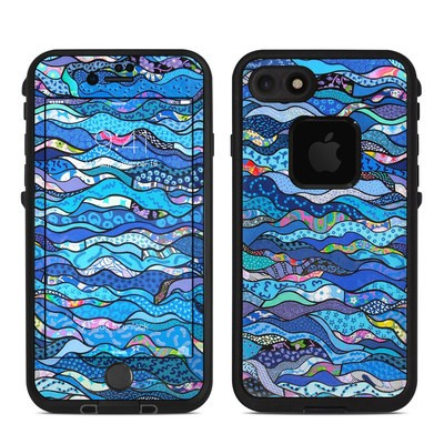 Lifeproof iPhone 7 Fre Case Skin - The Blues