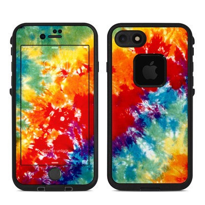 Lifeproof iPhone 7 Fre Case Skin - Tie Dyed