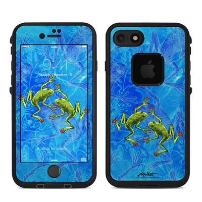 Lifeproof iPhone 7 Fre Case Skin - Tiger Frogs