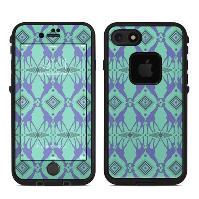 Lifeproof iPhone 7 Fre Case Skin - Tower of Giraffes