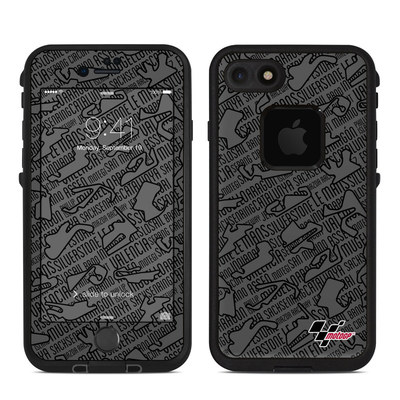 Lifeproof iPhone 7 Fre Case Skin - Tracked