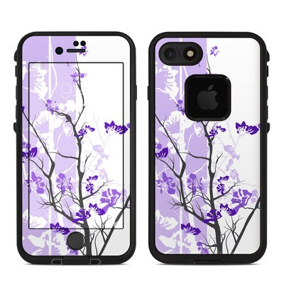Lifeproof iPhone 7 Fre Case Skin - Violet Tranquility