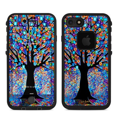 Lifeproof iPhone 7 Fre Case Skin - Tree Carnival